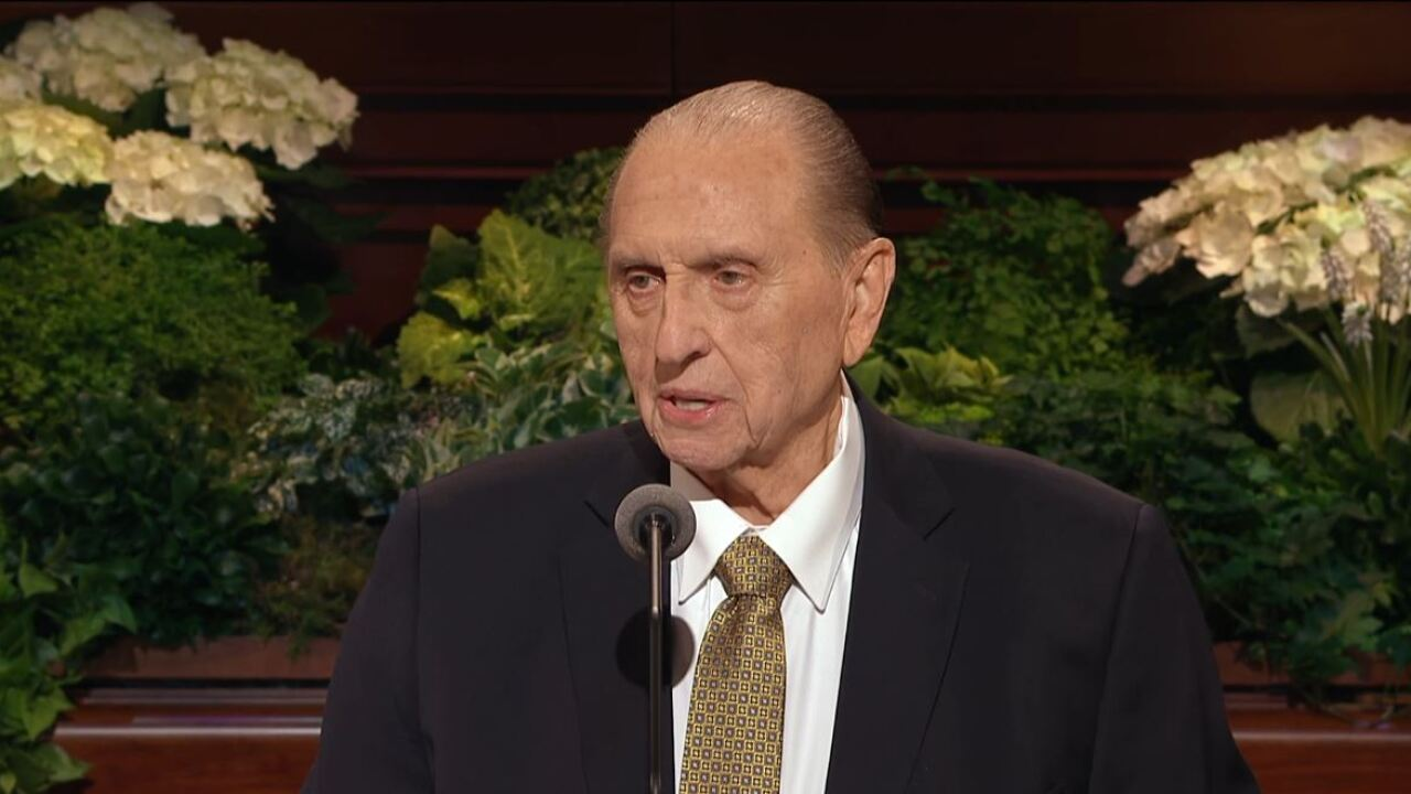 LDS Church President Thomas S. Monson released from the hospital