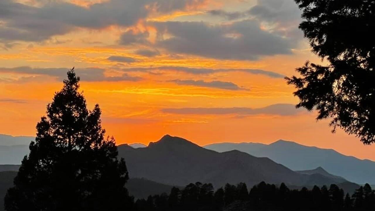 Carol Jean Brantner Woodland Park sunset
