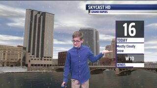 Meet Sam, our December Weather Kid!