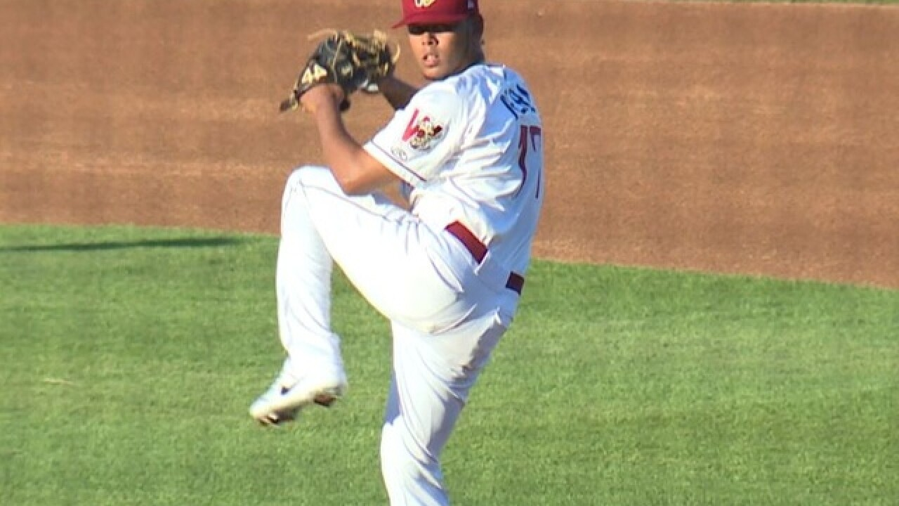 Freddy Peralta impresses in short start for Timber Rattlers
