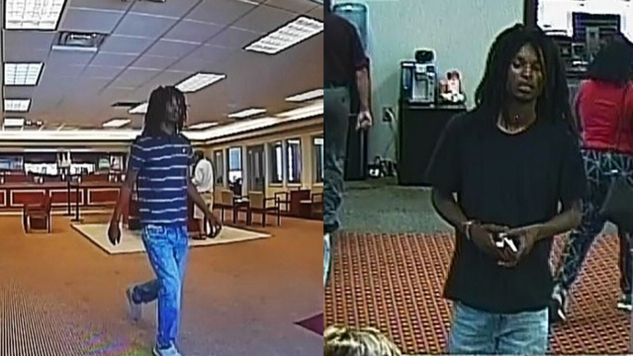 Alleged Bank Robber Caught In West Tennessee