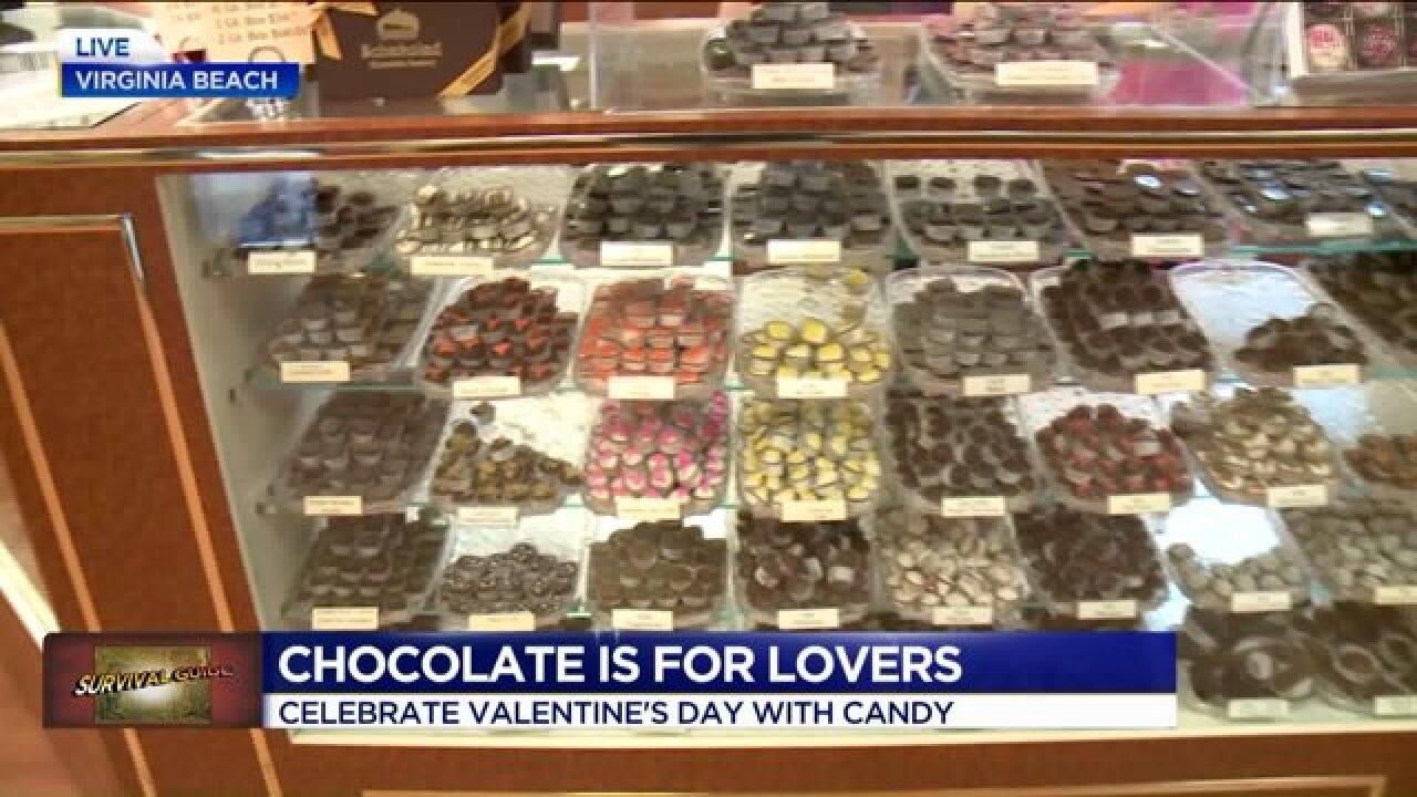Happy Valentine's Day! Celebrate withchocolate!