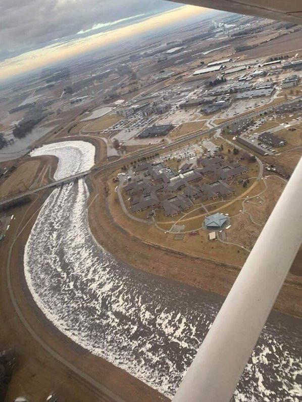 NSP - Aerial View of Norfolk Levee