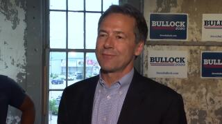 Bullock departs for Detroit and his first presidential primary debate