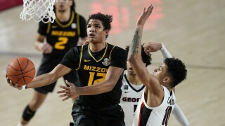 Missouri Georgia Basketball