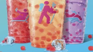 Boba-Like Strawberry 'Popping Bubbles' Are Coming To Dunkin's Menu