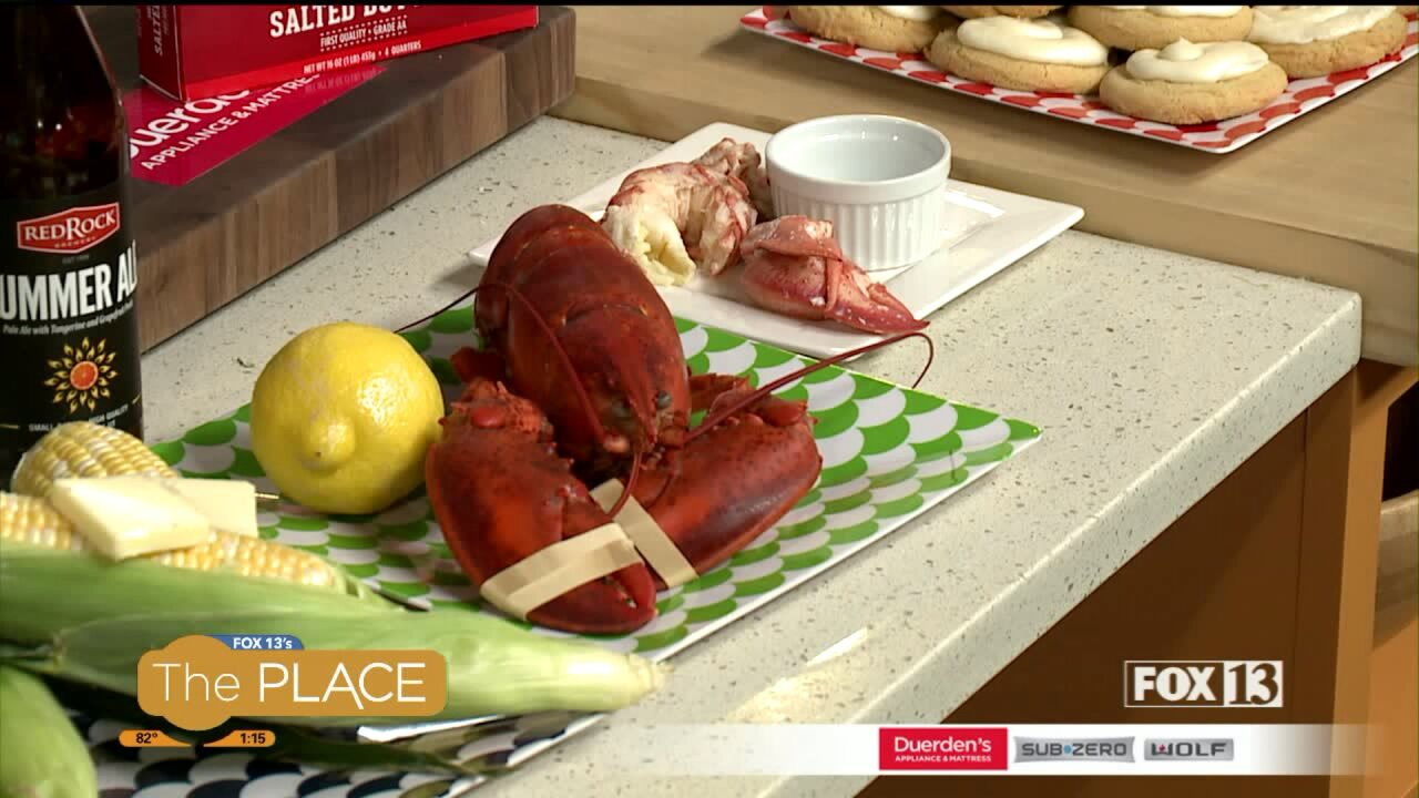 Recipe: Steamed New England Lobster andClams