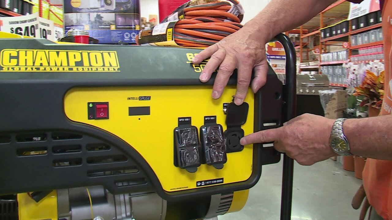 Preparing for Dorian: How to safely use a generator to keep powerrunning
