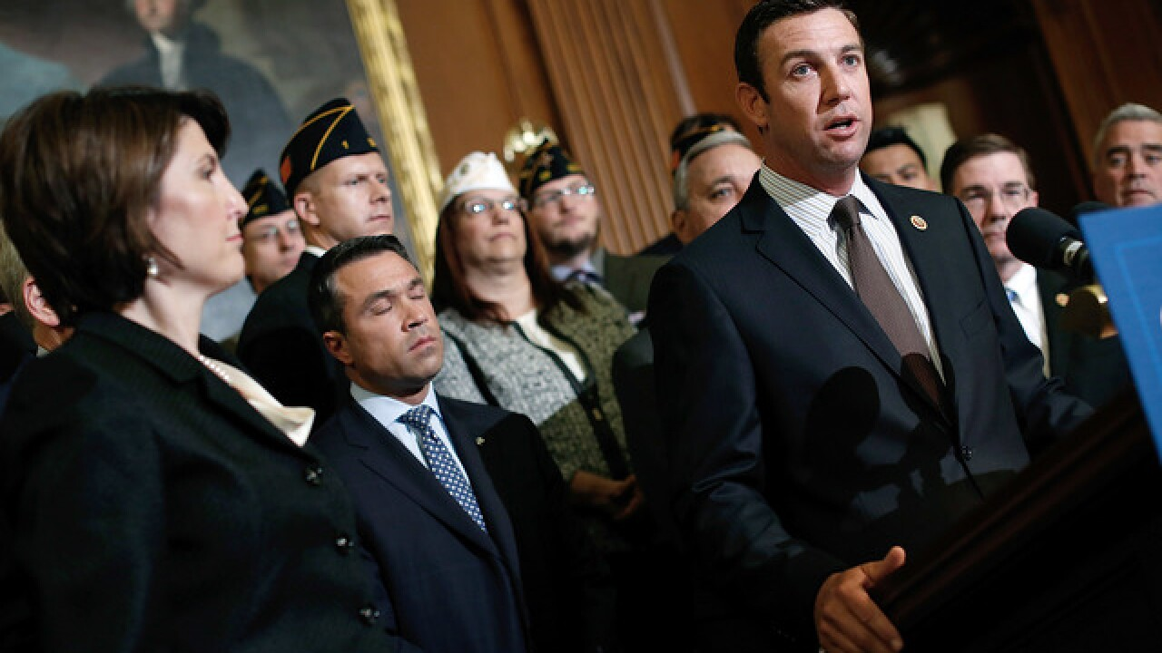 Affidavit alleges California Rep. Duncan Hunter spent campaign funds on vacations, tequila shots