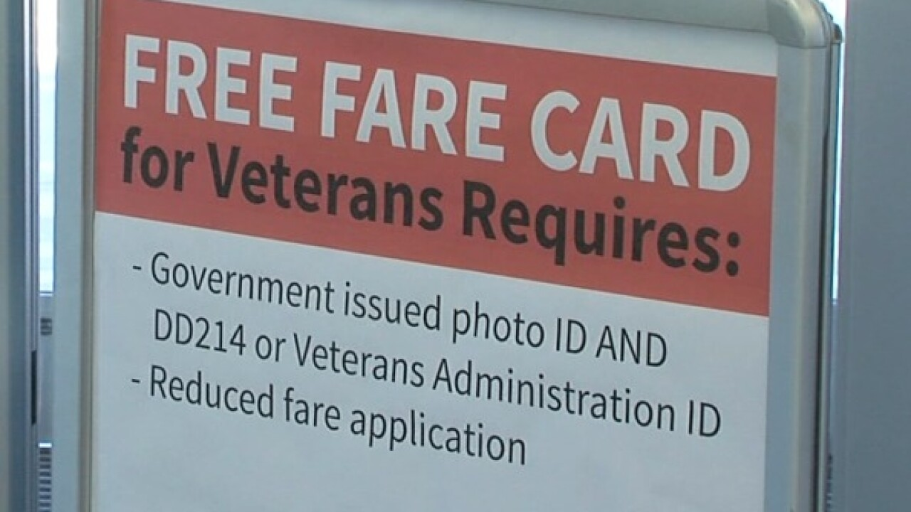 New program gives Indy vets free bus access