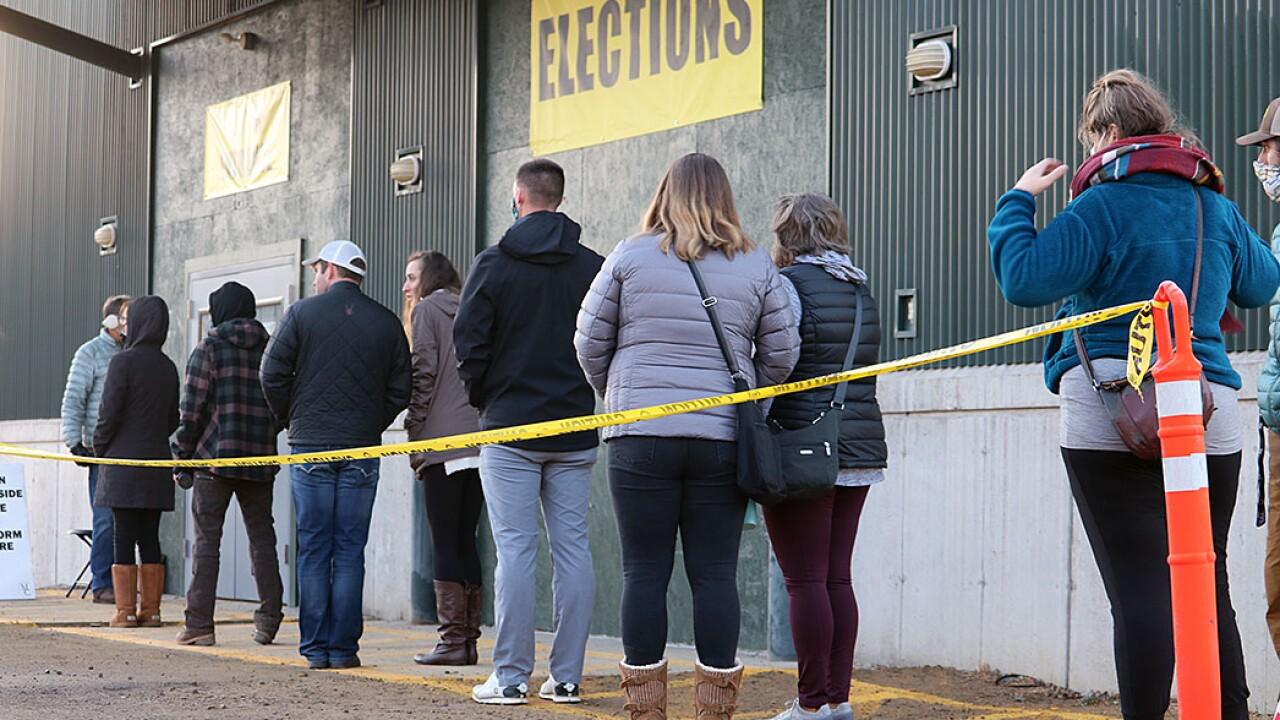 Missoula Elections Center Line
