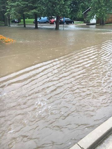PHOTOS: Flash flooding sweeps into SE Wisconsin