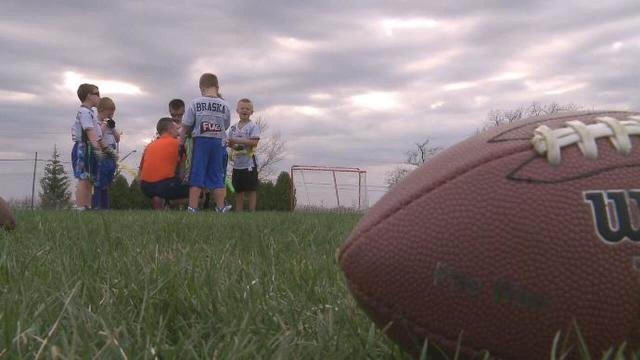 Kids are chucking the helmet for flag football fundamentals