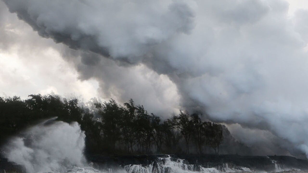 'Laze' is a big problem Hawaii residents near volcano are facing