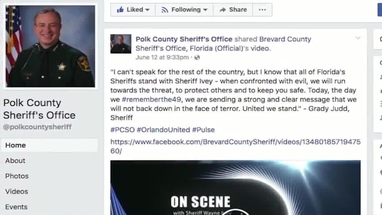 Polk County Sheriff Grady Judd on mass attacks: 'Get a gun'