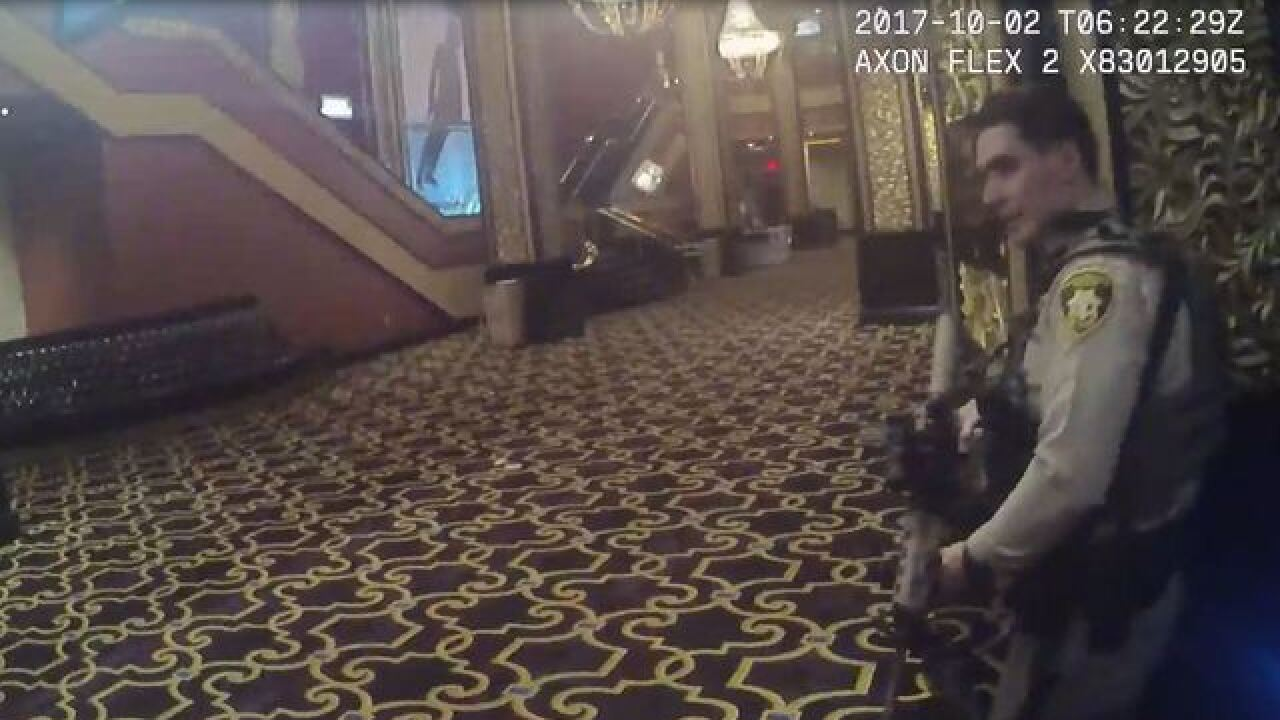 Police release more video in Las Vegas shooting on July 25
