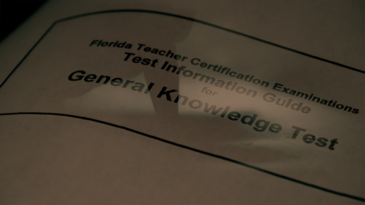 Florida lawmakers vote to help teachers struggling to pass state teacher exam