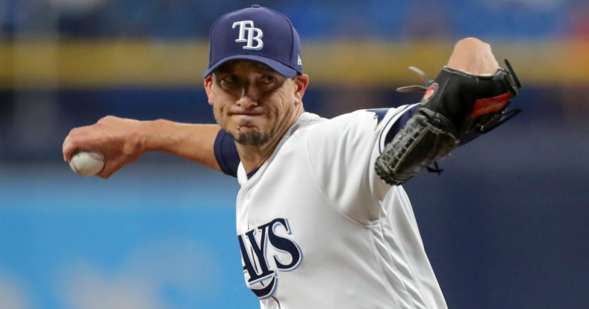 charlie morton remains unbeaten as tampa bay rays top oakland a s 6 2 tampa bay rays