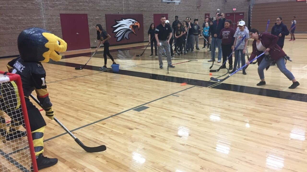 VGK, CCSD announce middle school field hockey