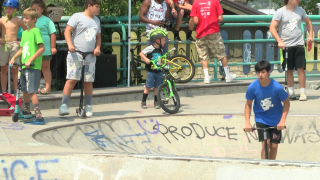Skate Park Jam held at Riverside Railyard