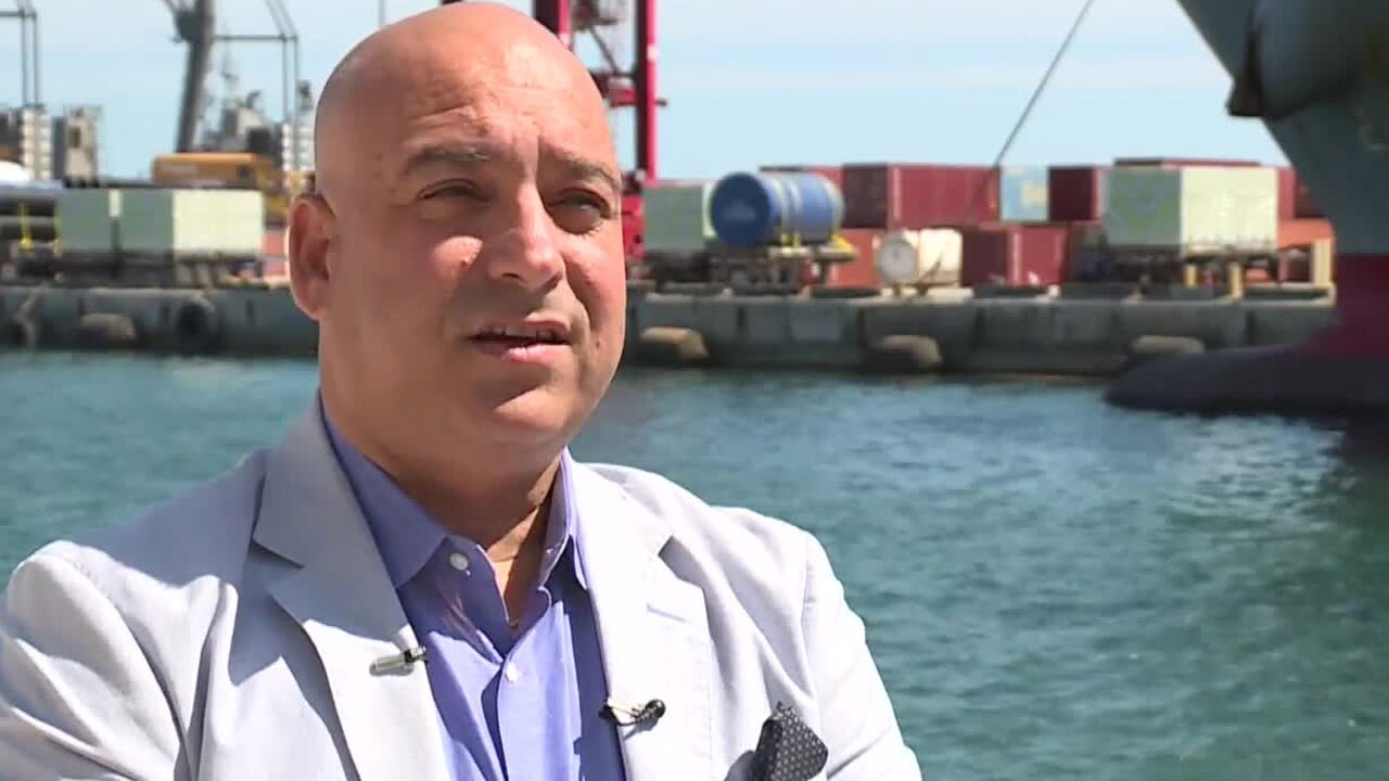 Oneil Khosa, CEO of Bahamas Paradise Cruise Line