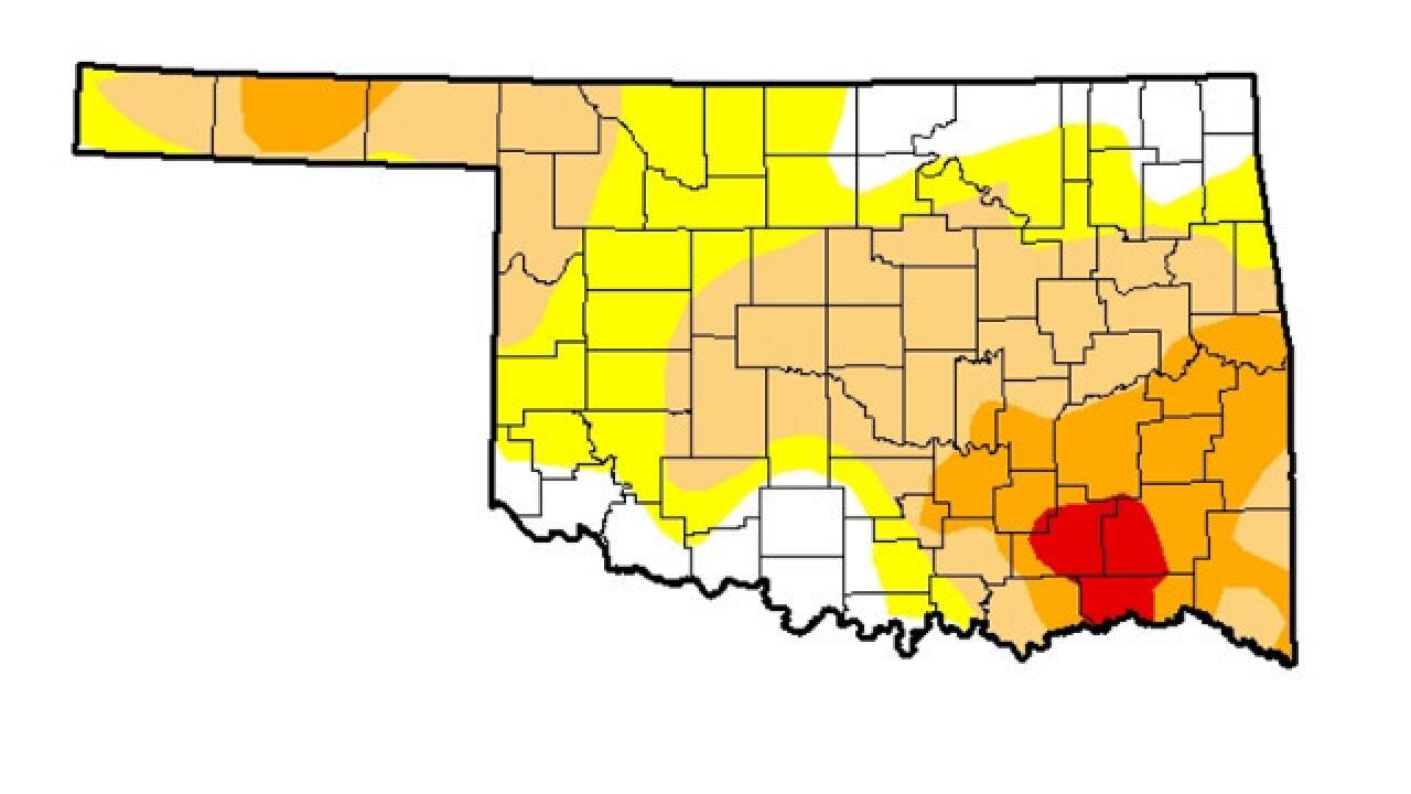 Dry, warm November intensified drought across Oklahoma