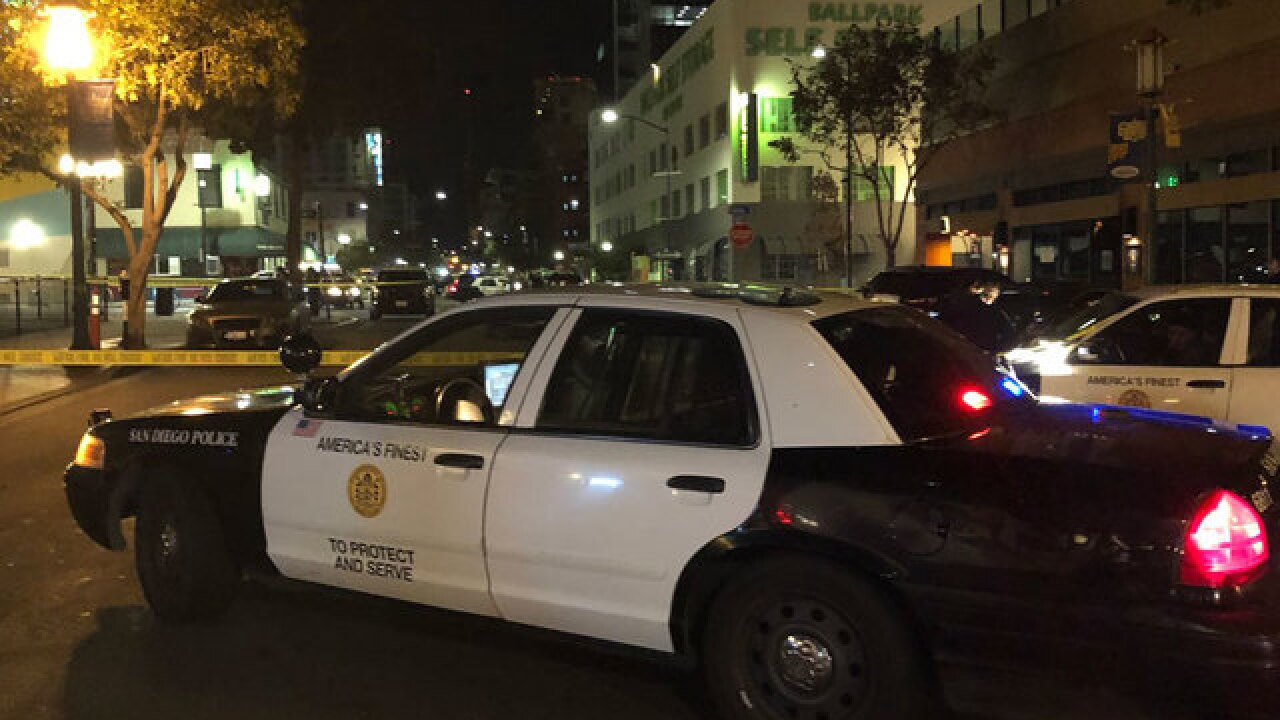 1 dead in downtown San Diego stabbing