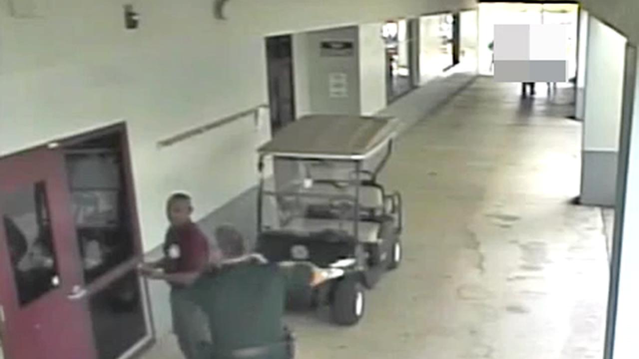 Surveillance video released from Marjory Stoneman Douglas school shooting tragedy