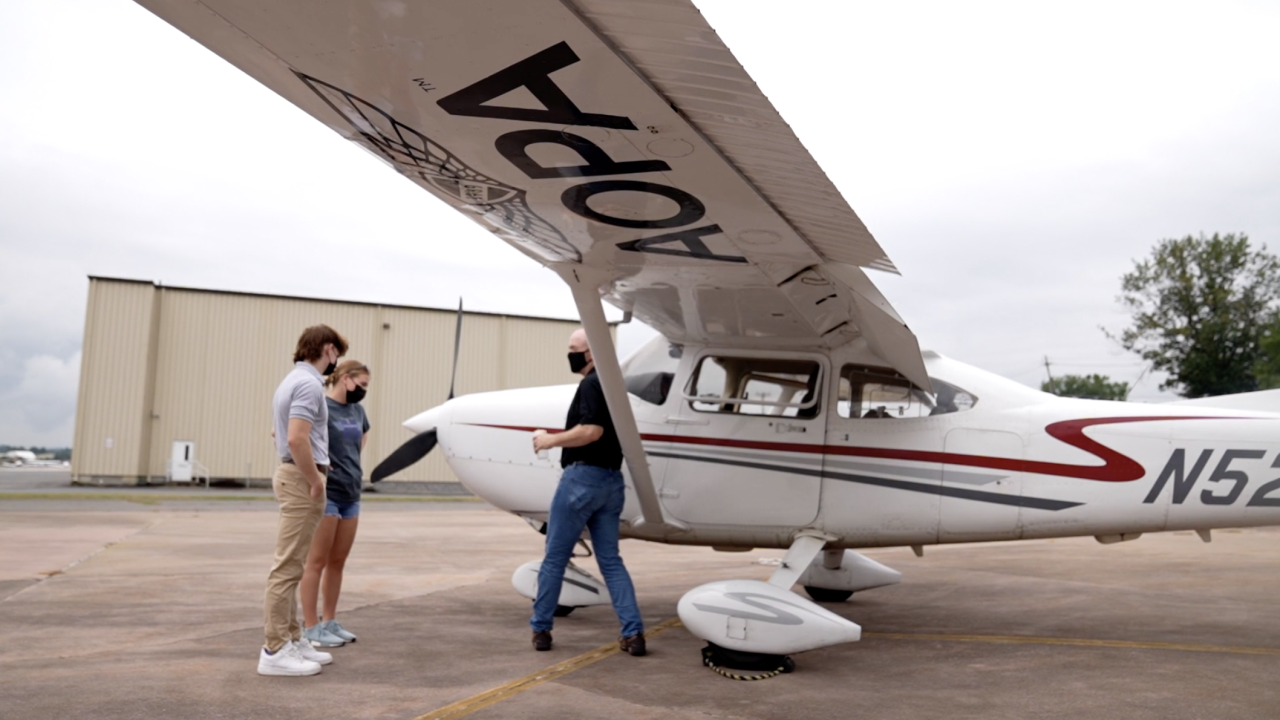 A nationwide program is working to get thousands of high school students on a flight path to a career in aviation.