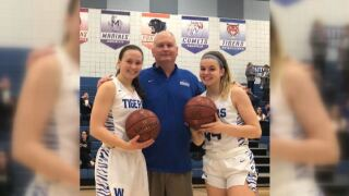 Wrightstown school scoring record
