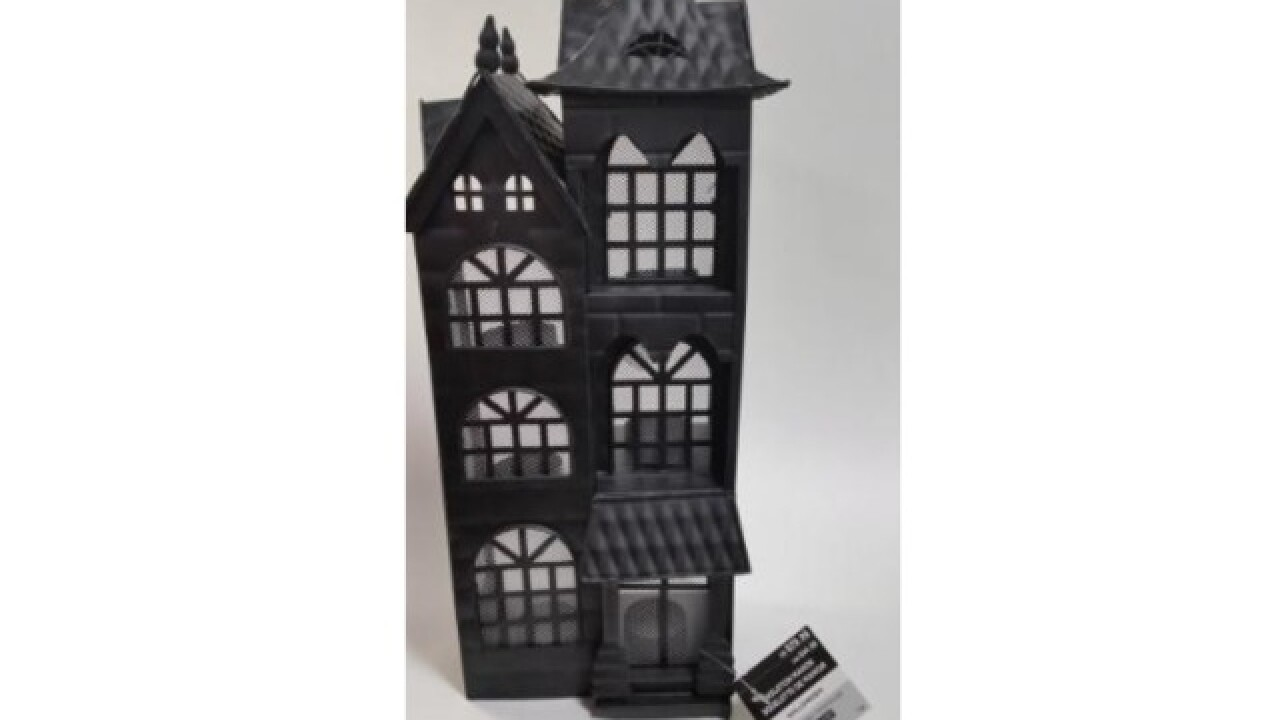 Michaels recalling townhouse candle holders