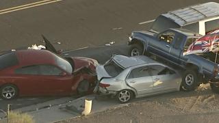 1 dead in crash near Buckeye and El Mirage Road