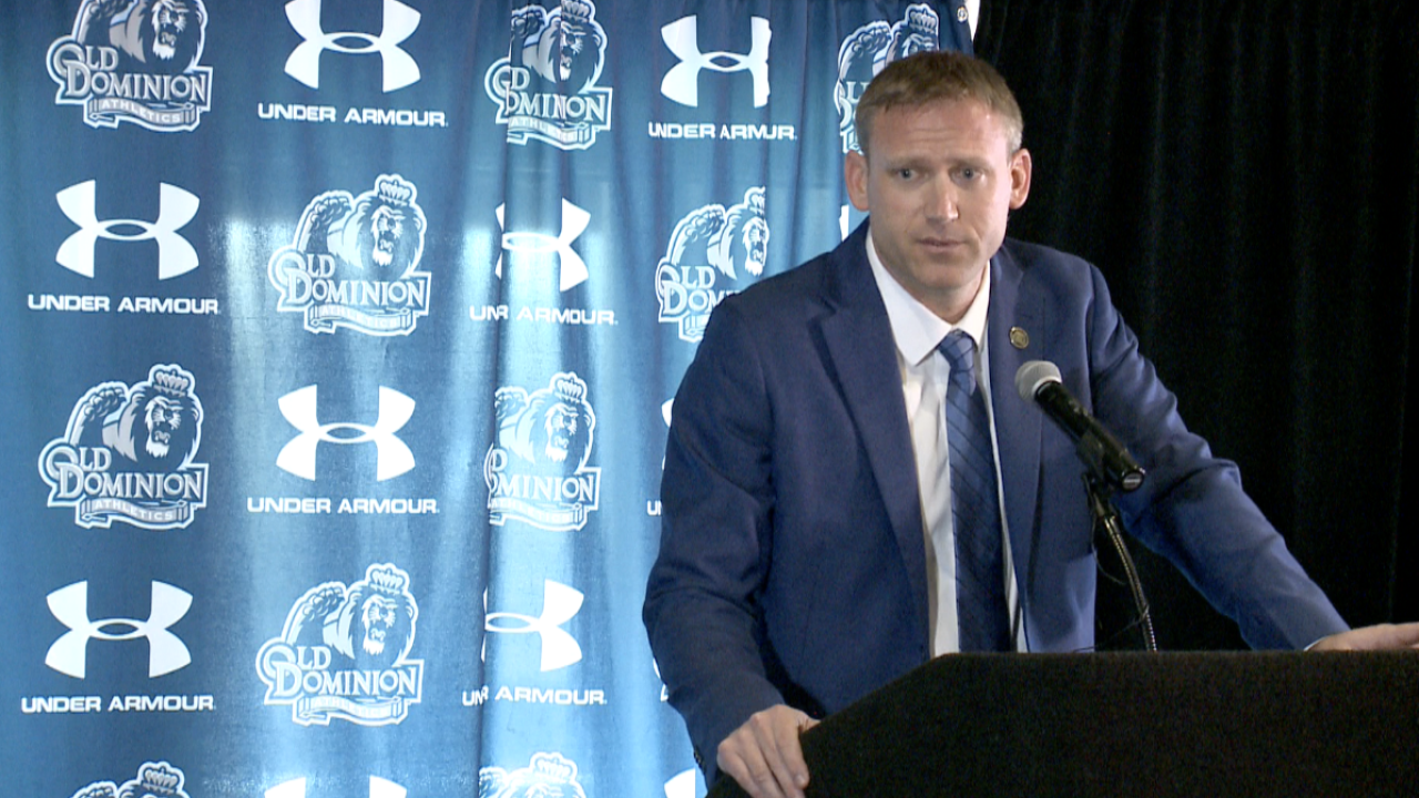Take note of Ricky Rahne, Old Dominion University's new football coach