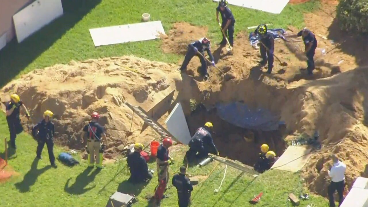 3 people were rescued from a 10-foot hole after a construction accident in Juno Beach on Aug. 19, 2021