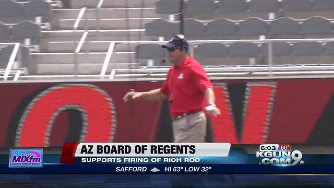 Candidates emerge to replace Rich Rodriguez