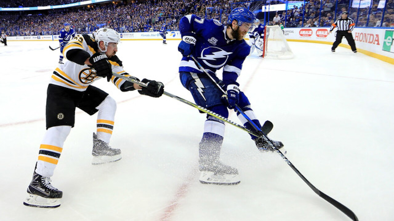 Lightning advance to Eastern Conference Finals