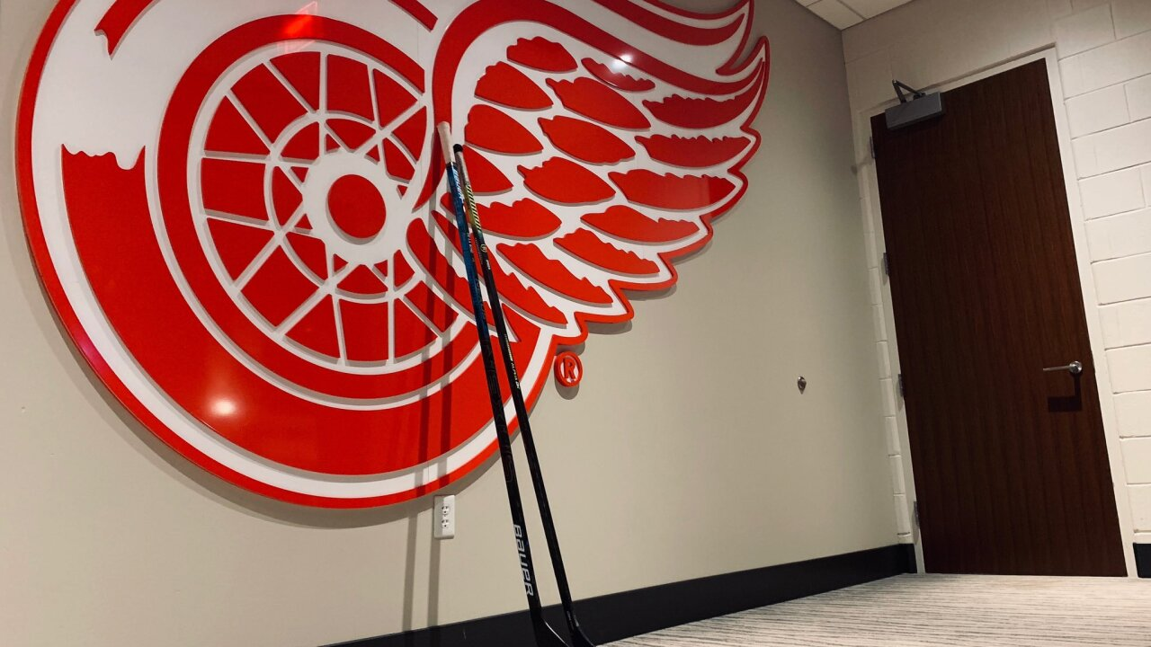 Detroit hockey fans help sing 'O, Canada' singer's mic cuts out