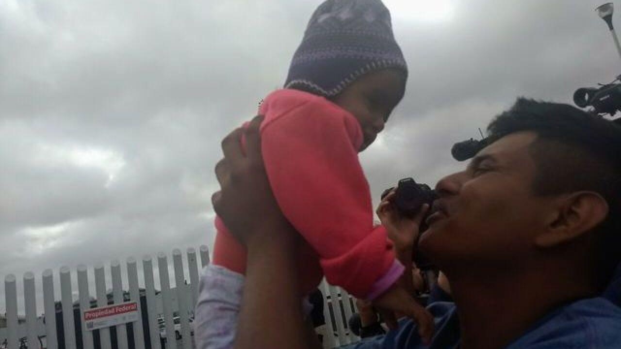 Migrants hopeful for asylum at US border