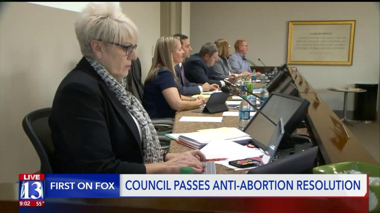 Riverton City Council passes controversial anti-abortionresolution