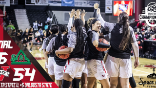 No. 5-Seed Lady Blazers Down No. 4-Seed Delta State, 54-46 in GSC Quarterfinal