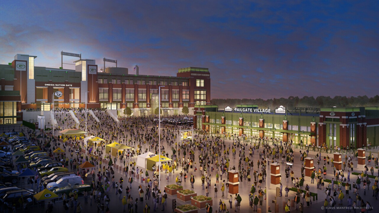 Packers announce 'permanent tailgate space'