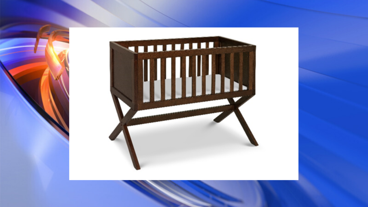 Baby bassinets sold online recalled due to fall hazard