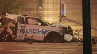 2 children dead in Ohio after stolen police cruiser crashes into cars outside library