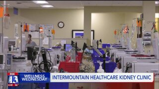 Wellness Wednesday: Intermountain Healthcare to launch new Kidney Careprogram