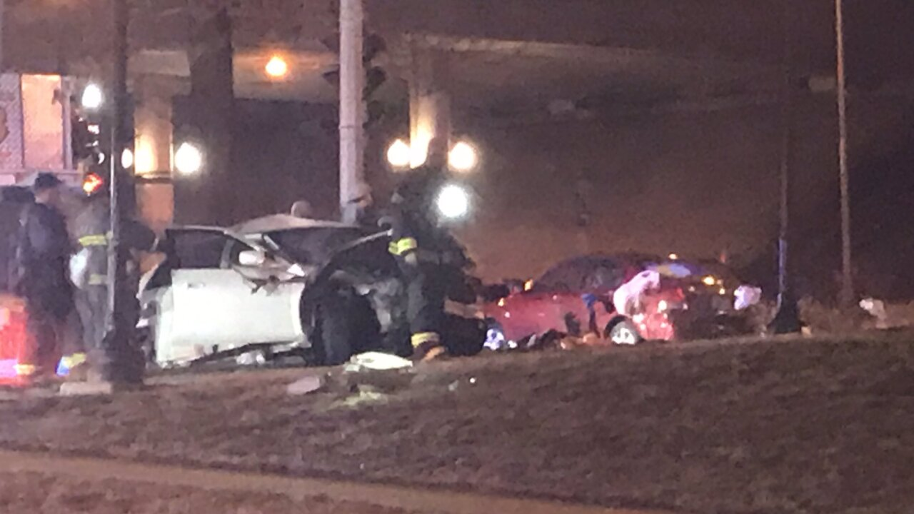 High-speed police chase ends in crash at Truman and MLK Blvd