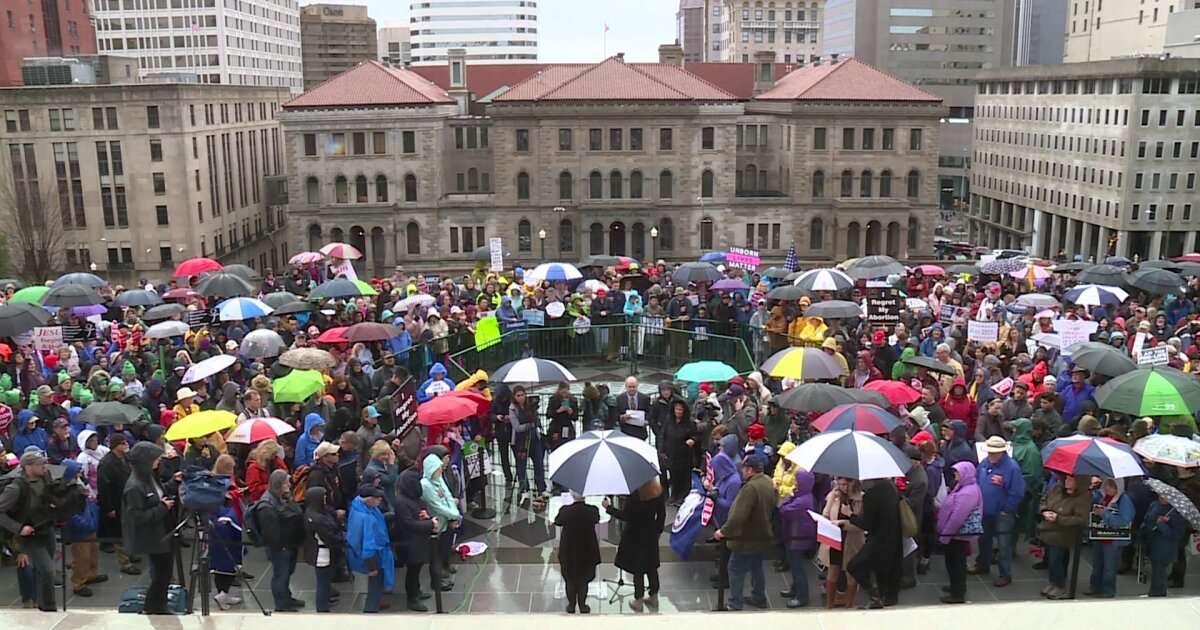 Pro-life advocates march at Capitol Square: 'Everything weighs on Virginia'