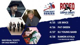 Buc Days Rodeo Corpus Christi Concert Series lineup announced