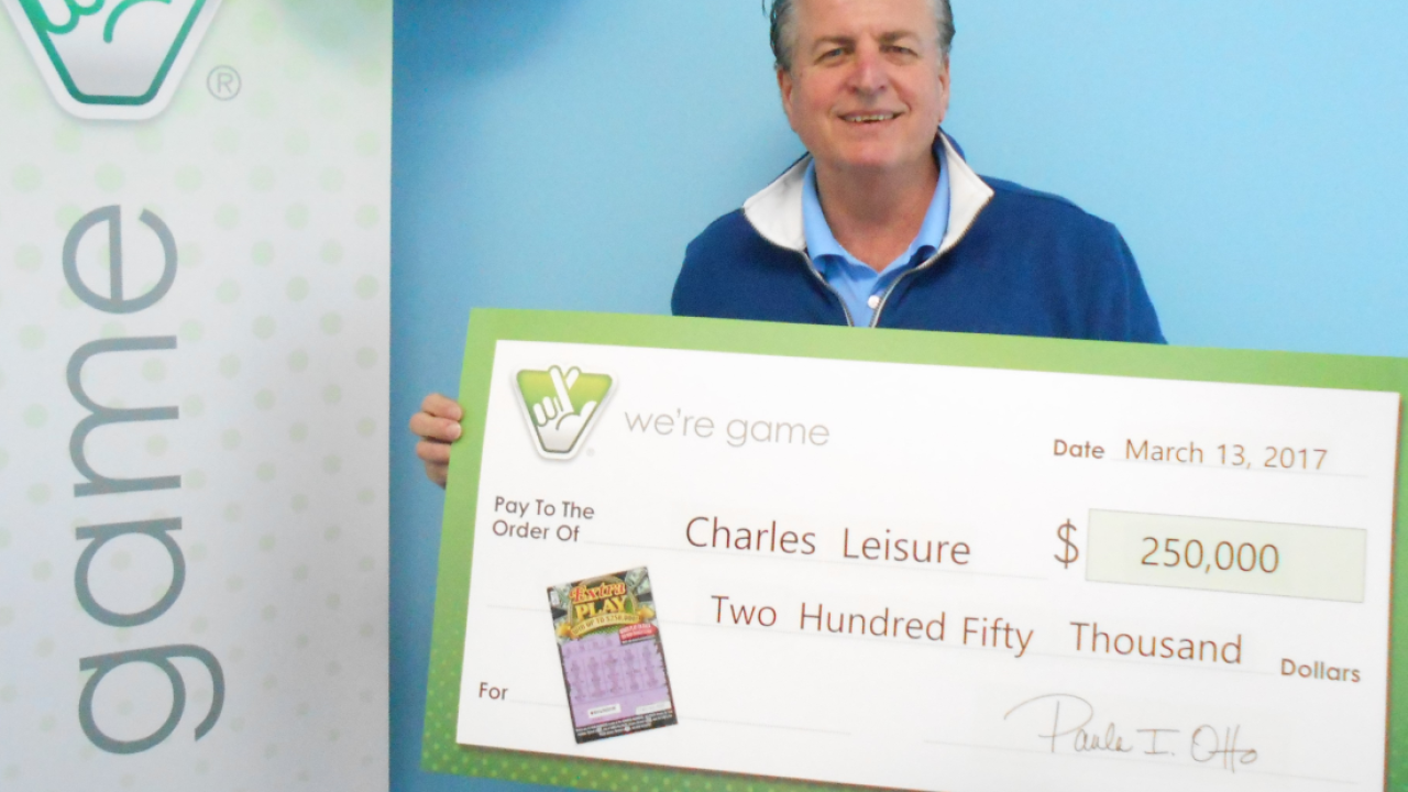 Virginia Beach couple wins big, two months after $1 million lottery prize