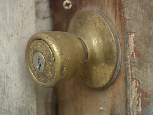 Some residents are returning home to find the locked changed if they've fallen behind on their rent.