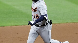 Tigers snap 20-game losing streak to Indians 10-5